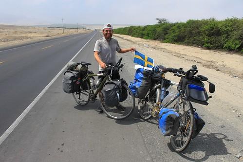 Rémi Lafrenière, 65,000 km in 1 year