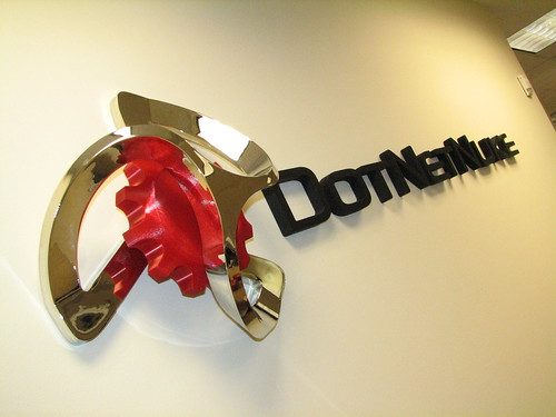 DotNetNuke Logo on the Wall