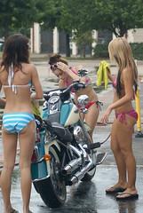 Twin Peaks Car Wash (MarkScottAustinTX) Tags: tx carwash wash bikini twinpeaks roundrock chadaustin