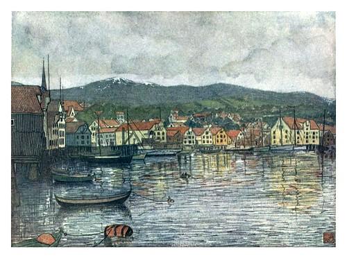 004-La ciudad de Molde-Norway 1905 -Nico Jungman