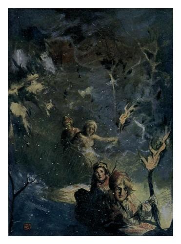 018- El descenso de las antorchas en trineo-Norway 1905 -Nico Jungman