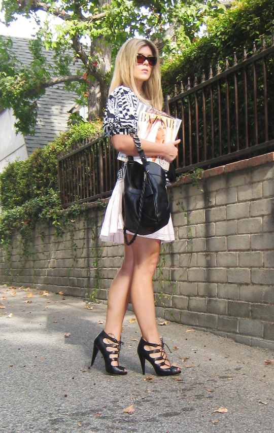 ferragamo hobo bag+lace up heels+tom ford sunglasses