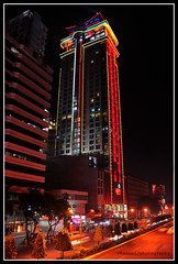 crown regency at night (Rhannel Alaba) Tags: city night philippines cebu crown regency