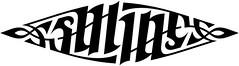 """Saline"" Ambigram"