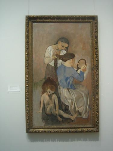 La Coiffure , 1906, Pablo Picasso _8416