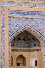 Tash-Hauli (Tosh-Hovli) Palace, Itchan Kala (Ichon Qala), Khiva (Xiva, , ), Uzbekistan (Ozbekiston, ) (Loc BROHARD) Tags: street wall persian gate asia fort madrasah minaret islam persia mosque unesco worldheritagesite mausoleum tiles silkroad calligraphy uzbekistan centralasia madrassa fortress sovietunion khiva tashhauli ichonqala mosque perse turkic madrasa uzbek calligraphie majolica khanate medrese madarsa medresa ouzbkistan madraza  xiva mdersa anawesomeshot  itchankala earthasia madarasaa khwarazm  ozbekiston greatsilkroad ozbekstan xorazm toshhovli khunaark  timuridempire khiveh khorasam khoresm khwarezm khwarizm chorezm khwarezmia  allakulikhan persiansamanid khanateofkhiva