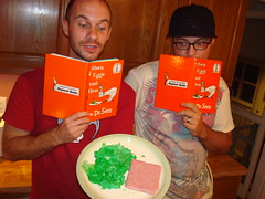 BLENDED Green Eggs and SPAM (The Wisest Wizards) Tags: show green coffee mixed funny comedy drink ryan wizard dr spam doug ham seuss gross blended disgusting eggs blender rough cuts mixture blend wizards the concoction wisest blendtec wisestwizards pancakehat jordanm85