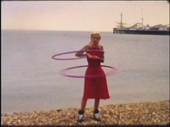 Hula (AndyWilson) Tags: china film beach vintage brighton hula analogue super8 super8mm eumig eumigette