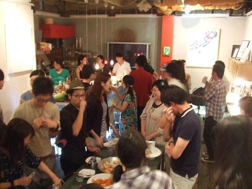 『夢のあと(after the dream)』chiyo exhibition party!