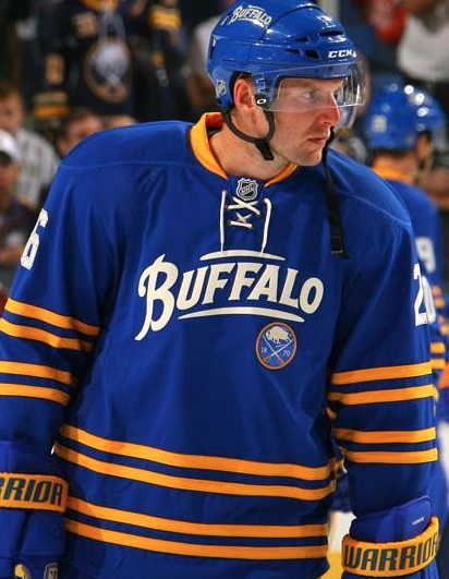 quality design e71c4 8ba12 Buffalo Sabres uniforms no longer bear the dreaded banana ...