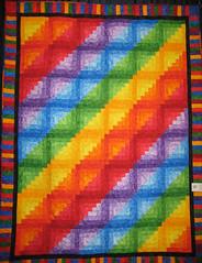 rainbow logcabin