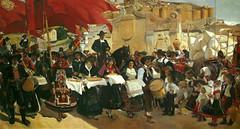 Castilla o La fiesta del pan. (Secci