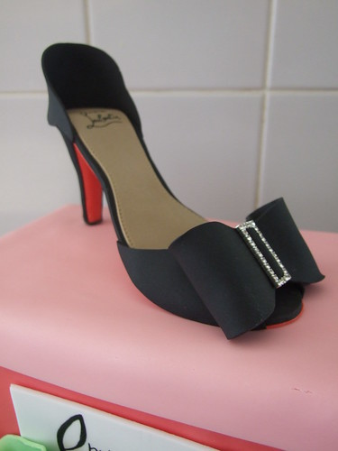 Christian Louboutin Shoe Box Cake