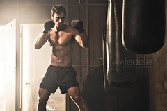FD100930mfit16 (John Fedele) Tags: man male window sports muscles john bag photography athletic thighs gloves boxer strength practice punch boxing athlete abs determination persistence fedele