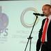 Tony Prince addressing International Sports Journalists WSDE