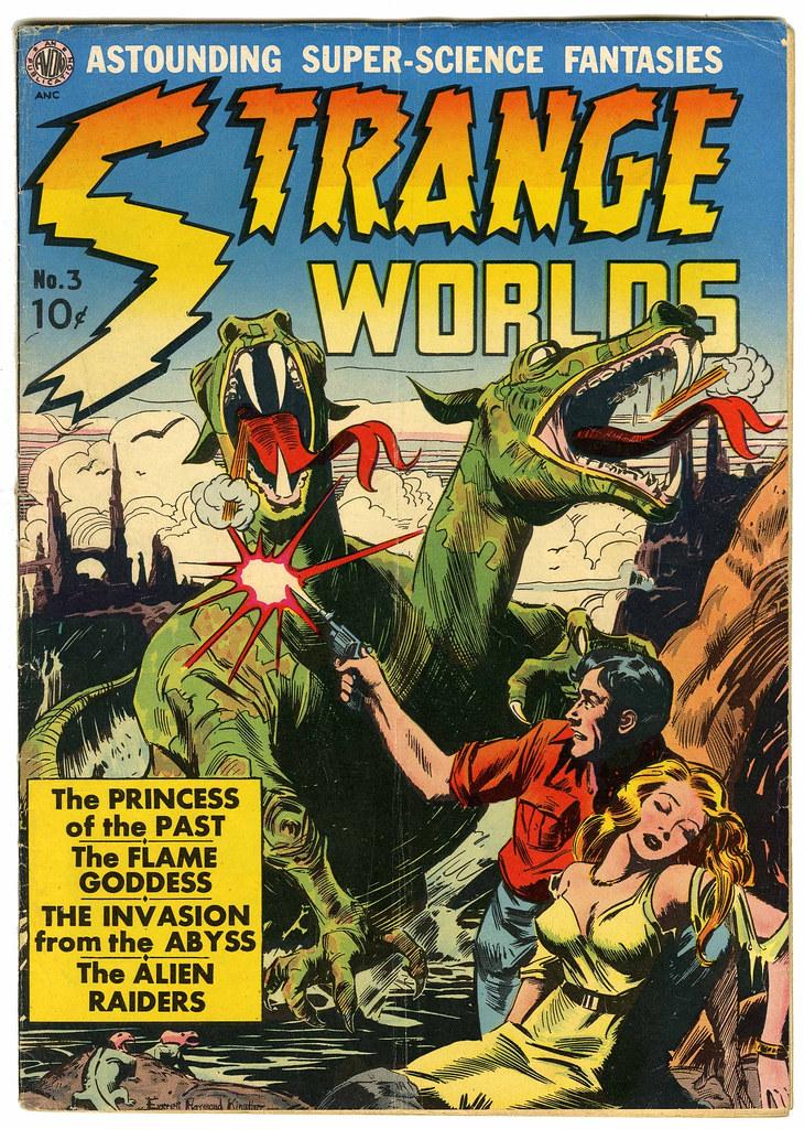 Strange Worlds #3 (Avon)