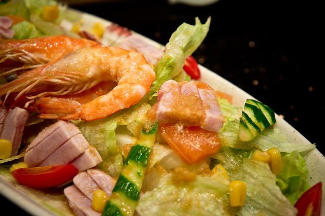 海鮮沙拉 - 玄海壽司居酒屋