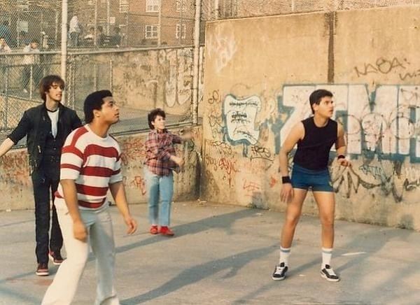 ZIMAD BRONX BLOCK STYLE ON HANDBALL COURT IN THE 80'S