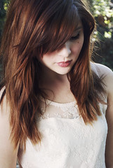 Bold (KimKimberlee) Tags: red girl creek hair outside outdoors long pretty dress lace indie vista arkansas bella lipstick keely hip classy freckle forever21 yount tanyard teengaer