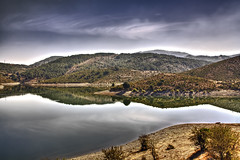 Il lago del Flumendosa (HDR) (<<<TheOne>>>) Tags: sardegna lake lago sardinia september settembre hdr highdynamicrange 2010 barbagia ogliastra seui flumendosa arzana tonneri