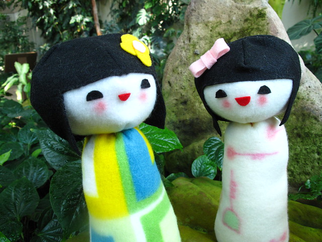 Kokeshi doll plush 20