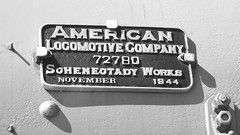 Big Boy Manufacturer Plate (Twang Your Head) Tags: unionpacific locomotive bigboy steamengine alco