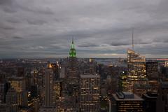 Top Of The Rock secuence III (eltercero) Tags: nyc newyorkcity sunset usa ny newyork skyscraper unitedstates 911 topoftherock nuevayork skyscrapper 11s eeuu secuence estadounidos topoftherocksecuence