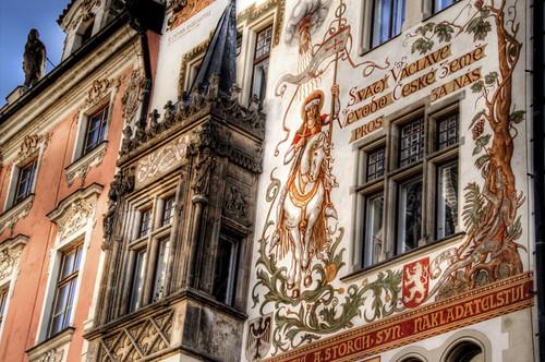 Storch house. Prague. Casa Storch. Praga