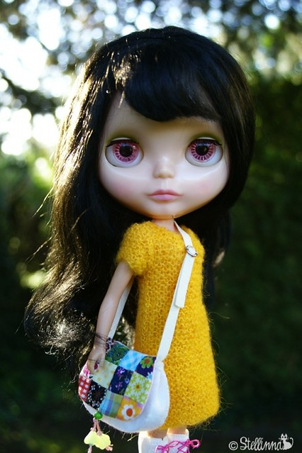 Pumpkin Flowers, Patchwork Princess