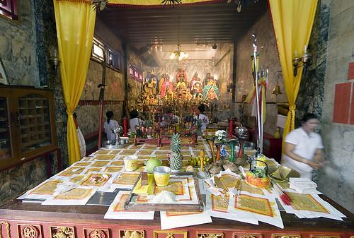 Inside Kathu Shrine