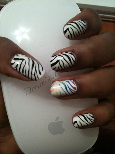 Stand Out Zebra