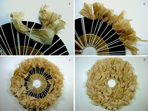 Tutorial: Wreath Vinyl Records and Pattern Paper