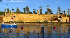 Parque Europa (estebanatienza) Tags: madrid espaa teatro spain arquitectura pueblo bonito torrejn teatrogriego pueblosdeespaa parqueeuropa