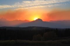 Mt. Moran sunset (fly flipper) Tags: grandtetonnationalpark togwoteepass mtmoran