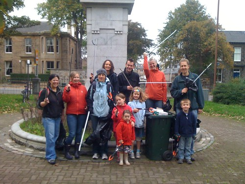 Victoria Park Clean-up Volunteers
