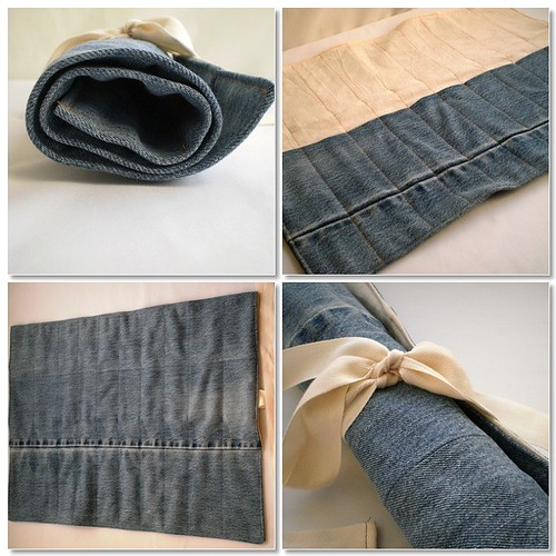 Denim Tool Roll
