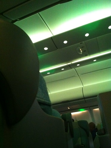 Not sure what green mood lighting is supposed to induce.