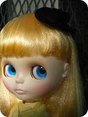 Mini Cowgirl Fascinator for Blythe