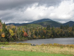 Whiteface across Connery Pond