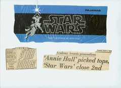 Star Wars scrapbook p. 26 (mgrabois) Tags: movie star starwars fighter princess ben luke ad tie advertisement card trading solo darth r2d2 xwing wars vader 1977 r2 han chewbacca d2 leia c3po skywalker obiwan kenobi