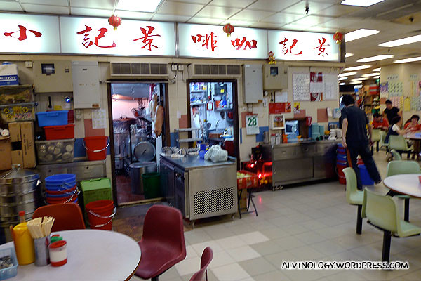 Some small eateries