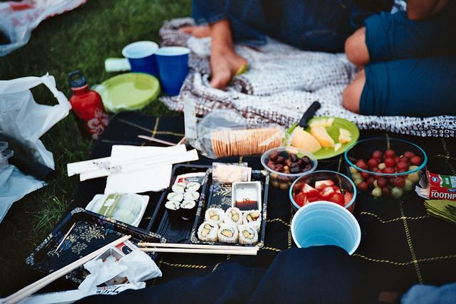 park concert + picnic