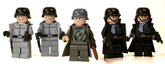MMCB Germans (*Nobodycares*) Tags: lego nazis wwii ss worldwarii ww2 guns powers axis worldwar2 gestapo germans wehrmacht uas sheaths brickarms brickforge mmcb