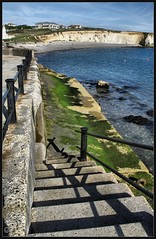 IMG_1517_b (busb) Tags: uk england holiday canon island raw shadows steps railing iow freshwaterbay busb g10 psp125 dpp381