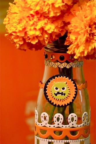 Starbucks Halloween Vase