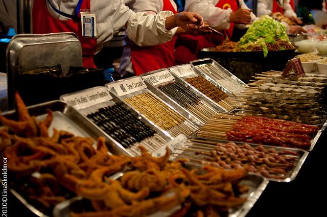 Food Market near Wangfujing