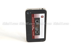 Cassete Tape iPhone 4 Decal Sticker Skin