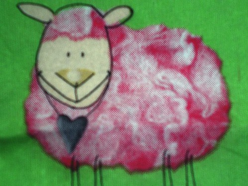 pink sheep by SuejayR