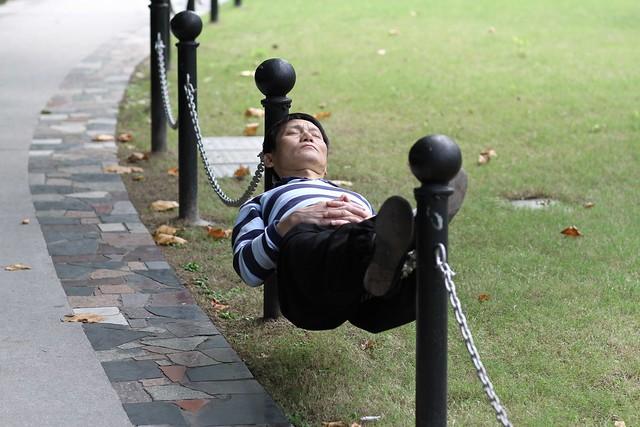 Balanced Nap....