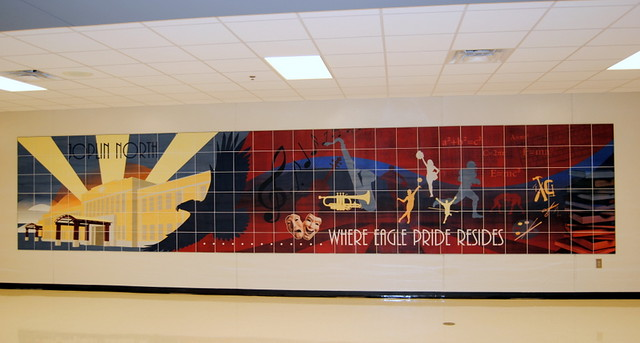 Joplin North Middle School Mural 04